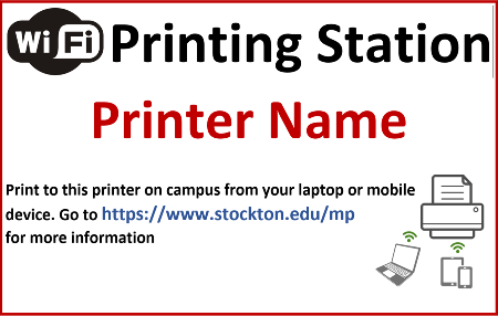 Printing Stations Poster
