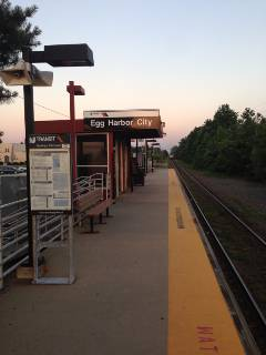 Egg Harbor City Train Station