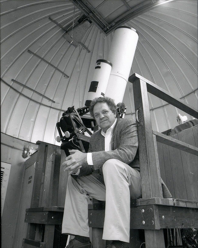 Image of Harold E. Taylor, Professor of Astrophysics