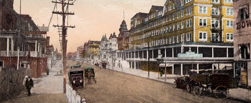 1910 Post card from Atlantic City