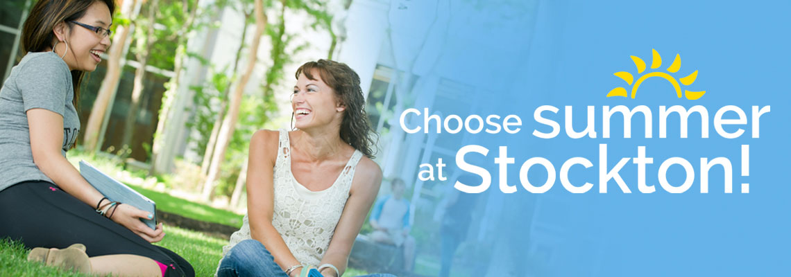 Choose Summer at Stockton!