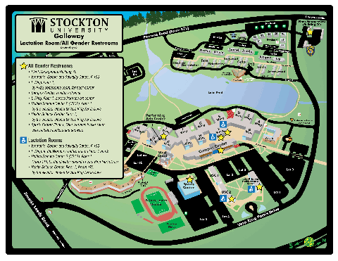 Galloway Campus Map of All-Gender Restrooms